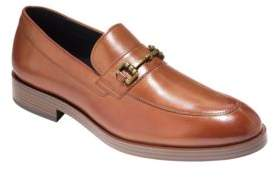 Cole Haan Dress Revolution Henry Grand Leather Horse-Bit Loafers