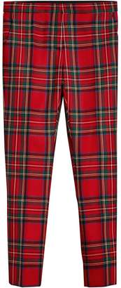 Burberry tartan tailored trousers