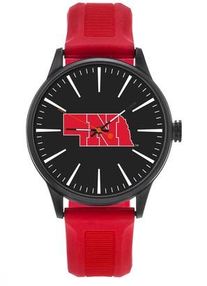 NCAA Men's Sparo Nebraska Cornhuskers Cheer Watch