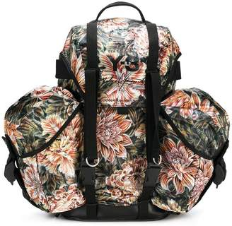 Y-3 floral camouflage utility backpack