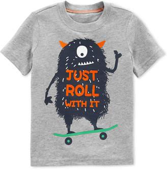 Carter's Toddler Boys Monster-Print Cotton T-Shirt