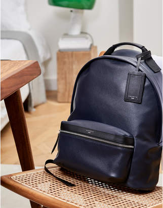 Sandro Coated fabric backpack