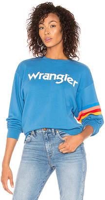 Wrangler Stripe Kabel Sweatshirt