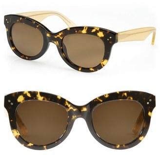 KREWE 'Julia' 51mm Polarized Cat Eye Sunglasses $255 thestylecure.com