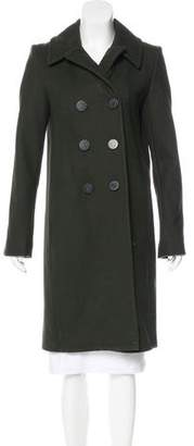 Balenciaga Structured Wool Coat