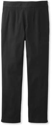 L.L. Bean L.L.Bean Side-Zip Ankle Pants