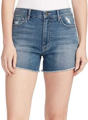 Ella Moss High-Waist Denim Shorts