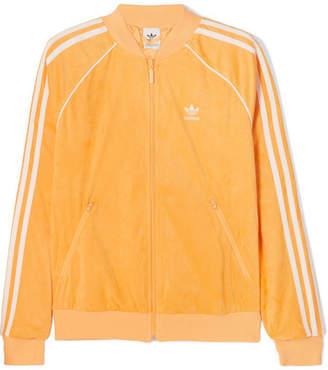 4c09a07536fd adidas Sst Striped Terry Track Jacket - Mustard