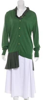 J.W.Anderson Wool Pleated Cardigan