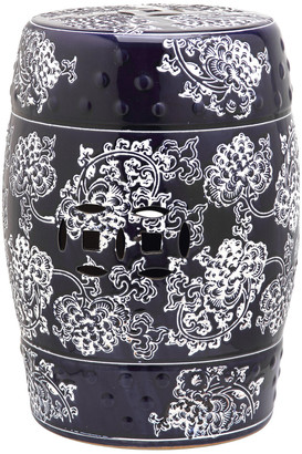 Safavieh Midnight Flower Garden Stool