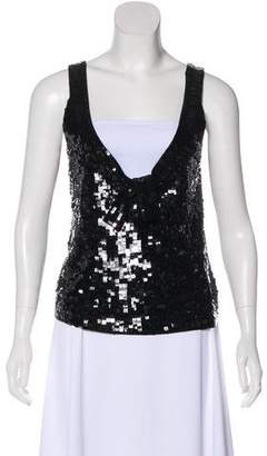 HUGO BOSS Boss by Embellished Sleeveless Top