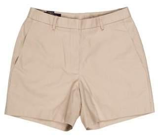Brooks Brothers Mid-Rise Mini Shorts