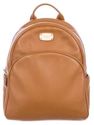 MICHAEL Michael Kors Leather Jet Set Backpack
