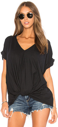 Bobi Feather Weight Jersey Knot Tee