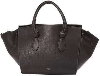Celine Tie leather tote