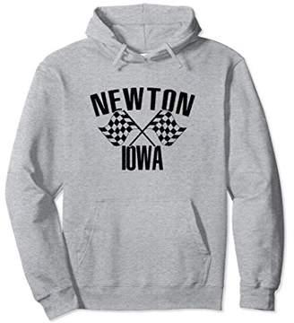 Newton Iowa IA Midwest Race Crew Driver Car Town Hoodie