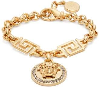 VERSACE Medusa crystal-embellished bracelet