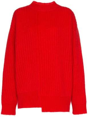 Calvin Klein long sleeve crew neck knit jumper