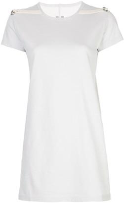 Rick Owens shoulder strap long T-shirt