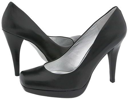 Jessica Simpson - Heron (Black Greased Leather)