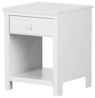 South Shore Cotton Condy 1 Drawer Nightstand