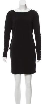 Rachel Zoe Drape-Accented Mini Dress