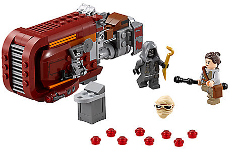 Rey's Speeder Playset by LEGO - Star Wars: The Force Awakens