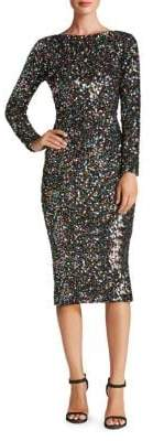 Dress the Population Emery Sequined Bodycon Dress