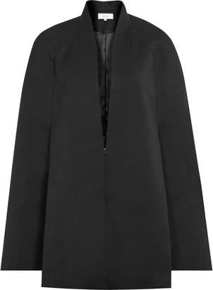 Reiss Tallis - Open-front Cape in Black