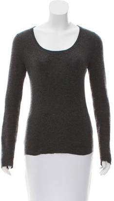 Prada Scoop Neck Knit Sweater