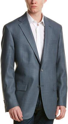 Hart Schaffner Marx Wool & Silk-Blend Sportcoat