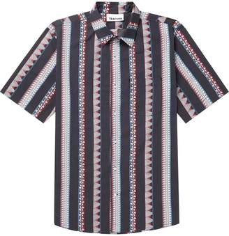 Thorsun multi pattern strip shirt