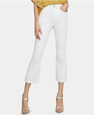 BCBGMAXAZRIA Cropped Bootcut Jeans