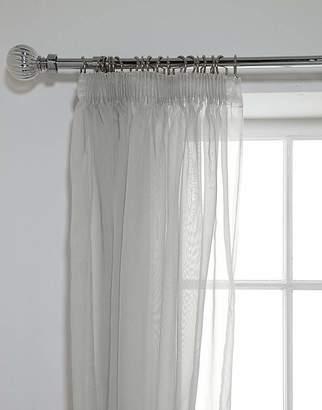 Bjorn Borg Unlined Voile Panels - 152x228cm - Grey