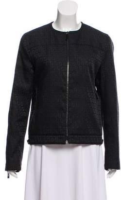 Fendi Zucca Zip-Up Jacket