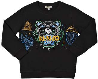 Kenzo (ケンゾー) - KENZO KIDS TIGER コットンスウェットシャツ