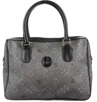 Mark Cross Monogrammed Handle Bag