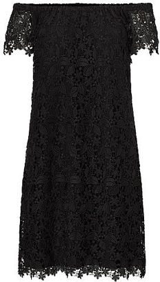 Ralph Lauren Lace Off-the-Shoulder Dress $150 thestylecure.com