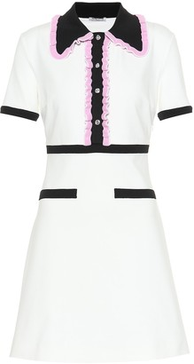 Miu Miu Ruffled midi dress