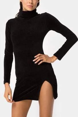 Motel Rocks Black Bodycon Dress
