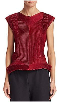 Issey Miyake Women's Seed Stretch Top