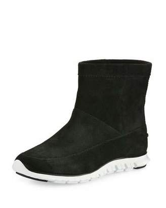 Cole Haan ZeroGrandTM Suede Ankle Boot, Black $250 thestylecure.com