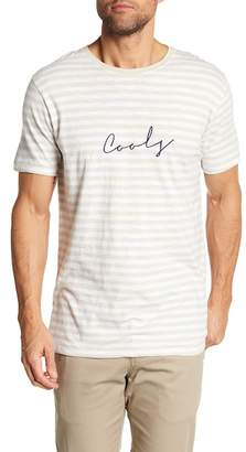 Barney Cools Embroidered Script Short Sleeve Tee