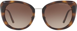 Michael Kors oversized tinted sunglasses