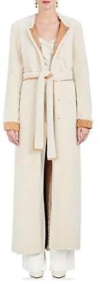The Row Women's Creyton Shearling Coat - Off White