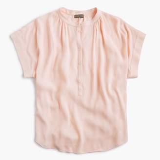 J.Crew Tall Point Sur drapey popover shirt