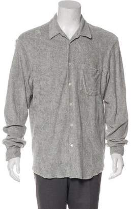Our Legacy Terrycloth Button-Up Shirt