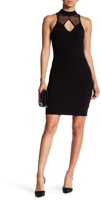 Sequin Hearts Mesh Neck Dress (Juniors) $54 thestylecure.com