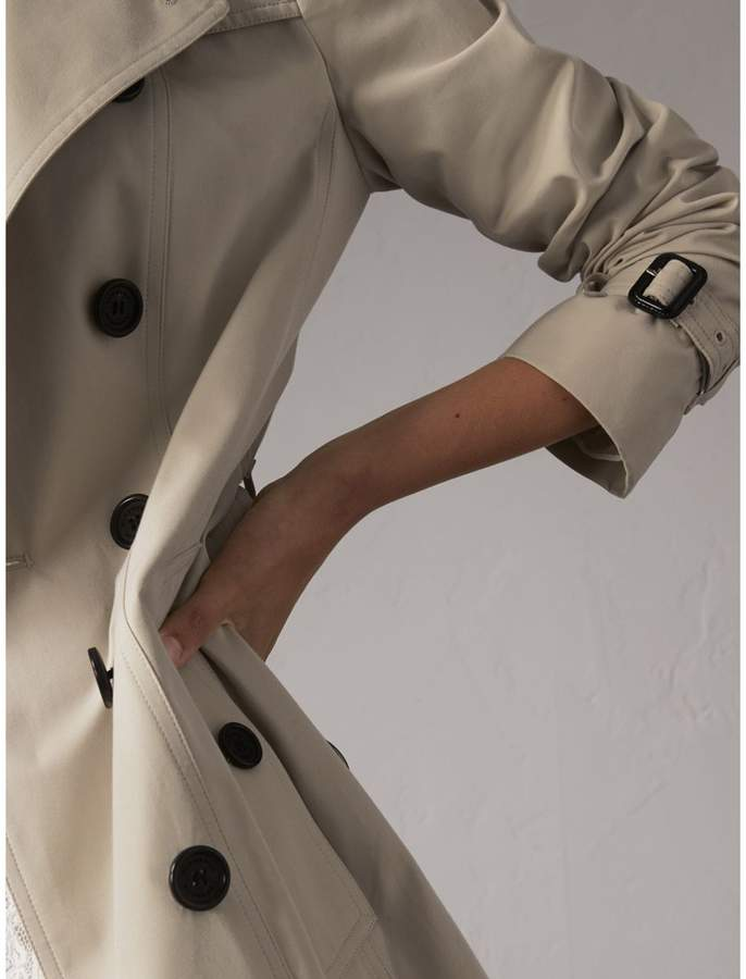 Burberry The Sandringham - Long Heritage Trench Coat , Size: 08, Beige