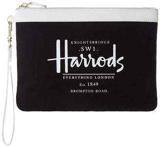 Harrods Anglesey Clutch Bag